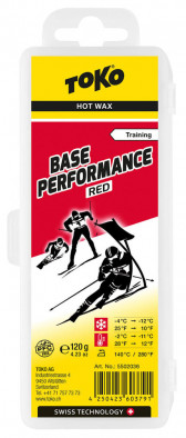 Мазь скольжения TOKO Base Performance red 120g, -4C/-12C