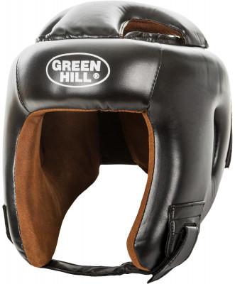 Шлем Green Hill HeadgearШлем для бокса, кикбоксинга, мма. Верхняя часть изготовлена из искусственной кожи, подкладка - из искусственной замши. Регулируемый обхват головы.<br>Состав: Искусст. кожа, наполнитель - пенопоуретан; Вид спорта: Бокс, ММА; Производитель: Green Hill; Артикул производителя: KBH-4050; Размер RU: 56-58;
