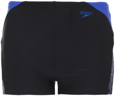 Плавки-шорты для мальчиков Speedo Boom SplДетские плавки-шорты с принтованными вставками speedo - отличный выбор для занятий в бассейне.<br>Пол: Мужской; Возраст: Дети; Вид спорта: Плавание; Защита от УФ: Да; Устойчивость к хлору: Да; Гипоаллергенная ткань: Нет; Длина по боковому шву: 24 см; Материал верха: 80 % полиамид, 20 % эластан; Технологии: Endurance10; Производитель: Speedo; Артикул производителя: 8-10848C143; Страна производства: Китай; Размер RU: 128;