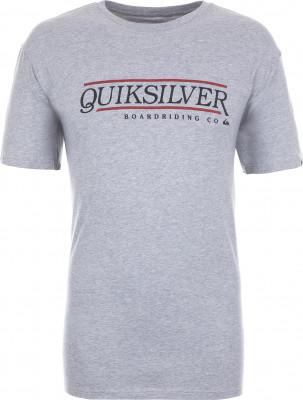 Футболка мужская Quiksilver, размер 44-46Surf Style <br>Футболка quiksilver для пляжного отдыха и жарких летних дней. Свобода движений классический крой для свободы и естественности движений.