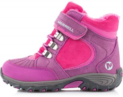 Купить со скидкой Ботинки утепленные для девочек Merrell Quick Close Natural, размер 27