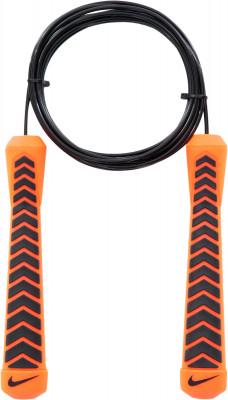 Скакалка скоростная NikeСкакалка от nike - отличный аксессуар для тех, кто стремится поддерживать себя в форме.<br>Состав: 49 % полипропилен, 28 % железо, 15 % термопластичный полиуретан, 8 % термопластичная резина; Вид спорта: Фитнес; Производитель: Nike Accessories; Артикул производителя: N.ER.30.869.NS; Размер RU: Без размера;