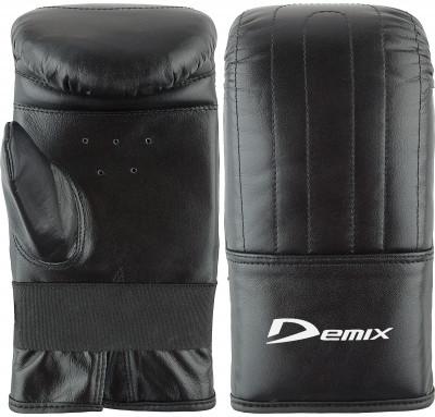Перчатки снарядные DemixПрочные снарядные перчатки надежно защитят руки от видимых повреждений во время тренировок с мешками и грушами.<br>Вес, кг: 0,36; Тип фиксации: Резинка; Материал верха: Искусственная кожа; Материал наполнителя: Пенополиуретан; Материал подкладки: Полиэстер; Вид спорта: Бокс; Технологии: Memory Foam Demix; Производитель: Demix; Артикул производителя: DCS-203BLM; Срок гарантии: 3 месяца; Страна производства: Пакистан; Размер RU: M;