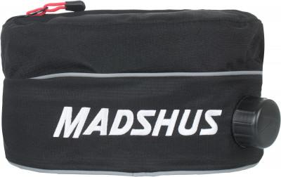 Сумка на пояс MadshusПоясная сумка с утепленным карманом для бутылки и небольшим карманом для хранения мелочей надежная фиксация удобный эластичный ремень позволяет надежно зафиксировать сумку н<br>Материалы: 100 % полиэстер; Производитель: Madshus; Вид спорта: Беговые лыжи; Артикул производителя: N1650502; Страна производства: Китай; Размер RU: Без размера;