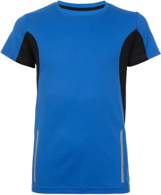 Футболка для мальчиков Demix, размер 128Футболки и майки<br>Яркая беговая футболка из влагоотводящей ткани для мальчиков от demix.