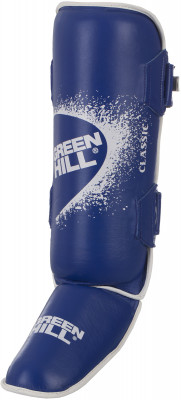 Защита голени Green Hill ClassicЭргономичная форма защиты голени и стопы позволяет надежно фиксировать изделие, обеспечивая стабильное положение ноги.<br>Материал верха: Натуральная кожа; Материал наполнителя: Пенопоуретан; Вид спорта: Карате, ММА, Самбо, Тхэквондо; Производитель: Green Hill; Артикул производителя: G-0019; Размер RU: M;