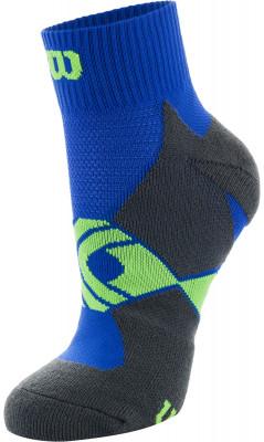 Носки Wilson Running Low Cut, 1 параСпортивные носки для бега. Мохровая пятка и мысок придают дополнительную мягкость. Поддержка свода стопы обеспечивает комфорт во время бега и ходьбы. В комплекте 1 пара.<br>Пол: Мужской; Возраст: Взрослые; Вид спорта: Бег; Материалы: 54% полиэстер, 43% нейлон, 3% эластан; Производитель: Wilson; Артикул производителя: W408-N; Страна производства: Китай; Размер RU: 43-46;