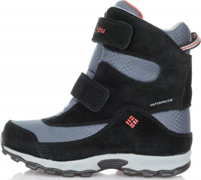 5e9175eebef4 Ботинки утепленные для мальчиков Columbia Childrens Parkers Peak Velcro,  размер 30