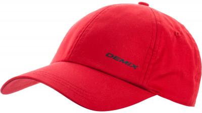 Бейсболка DemixУдобная хлопковая бейсболка надежно защищает от солнца в жаркую погоду.<br>Пол: Мужской; Возраст: Взрослые; Вид спорта: Спортивный стиль; Производитель: Demix; Артикул производителя: AUCC01_1R2; Страна производства: Китай; Материал верха: 100 % хлопок; Материал подкладки: 100 % хлопок; Размер RU: Без размера;