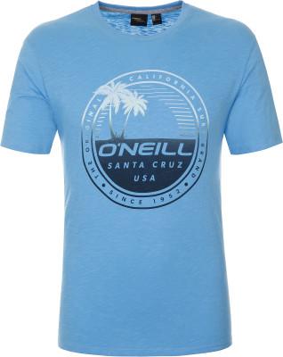 Футболка мужская ONeill Lm Palm Island, размер 50-52Surf Style <br>Футболка от o neill станет отличным выбором для активного отдыха на пляже. Свобода движений прямой крой футболки обеспечивает полную свободу движений.