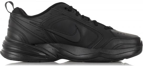 377cb519 Кроссовки мужские Nike Air Monarch IV черный цвет — купить за 4199 руб. в  интернет-магазине Спортмастер