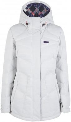 54b435ee9c9 Куртка пуховая женская Termit светло-серый цвет - купить за 3999 руб ...