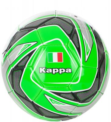 Мяч футбольный KappaМячи<br>Яркий тренировочный мяч от kappa сохранение формы два прочных подкладочных слоя из полиэстера позволяют мячу оставаться круглым и не терять форму.