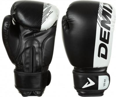 Перчатки боксерские, Черный, Белый, 14 oz