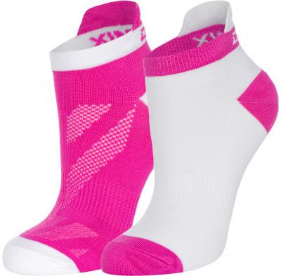Носки женские Demix, 2 пары, размер 35-38Носки<br>Прекрасные спортивные носки из микрофибры отлично впитывают влагу и быстро сохнут. Благодаря вкраплению лайкры хорошо тянутся. Идеально подойдут для занятий фитнесом.