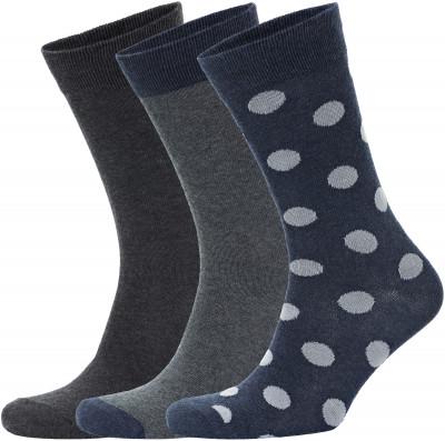 Носки мужские Skechers, 3 пары, размер 41-46
