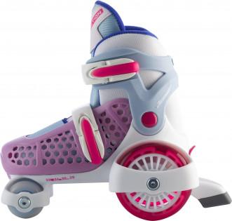 Роликовые коньки детские раздвижные REACTION Junior Girl