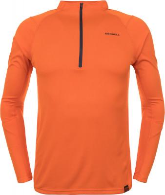 Футболка с длинным рукавом мужская Merrell, размер 50Футболки<br>Технологичная футболка с длинным рукавом от merrell - отличный выбор для горного туризма. Свобода движений крой с рукавами реглан позволяет двигаться свободно.