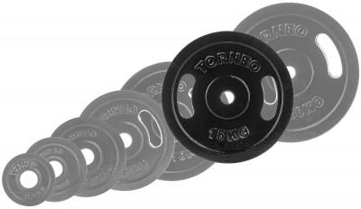Блин Torneo стальной 15 кгСтальные диски, эмалированный металл. Используются как с композитными грифами torneo, так и с любыми стальными грифами. Посадочный диаметр: 31 мм. Диаметр: 326 мм.<br>Посадочный диаметр: 31 мм; Внешний диаметр: 326 мм; Толщина: 35,5 мм; Материал диска: Сталь; Покрытие: Эмаль; Вес, кг: 15; Вид спорта: Силовые тренировки; Технологии: ErgoMove, EverProof; Производитель: Torneo; Артикул производителя: 1022-150; Срок гарантии: 5 лет; Страна производства: Китай; Размер RU: Без размера;