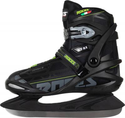 Roces Icy-Rx (взрослые)Ледовые коньки<br>Удобная модель мужских ледовых коньков для катания в стиле фитнес. Сохранение тепла мягкий теплоизоляционный внутренник comfort fit system.