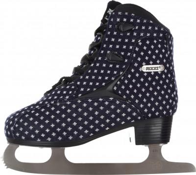 Roces Wooly 002 (взрослые)Ледовые коньки от roces. Модель из серии glamour предназначены для катания в стиле фитнес.<br>Вес, кг: 0,82; Раздвижной ботинок: Нет; Термоформируемый ботинок: Нет; Материал ботинка: Нейлон, синтетическая ткань; Материал подкладки: Износостойкий вельвет; Материал лезвия: Углеродистая сталь; Тип фиксации: Шнурки; Усиленный ботинок: Нет; Поддержка голеностопа: Есть; Ударопрочный мыс: Нет; Морозоустойчивый стакан: Да; Анатомическая стелька: Нет; Усиленный язык: Нет; Анатомические вкладыши: Есть; Съемный внутренний ботинок: Нет; Материал подошвы: Пластик; Заводская заточка: Да; Утепленный ботинок: Да; Пол: Женский; Возраст: Взрослые; Вид спорта: Фитнес; Уровень подготовки: Начинающий; Технологии: Anatomic padding, Comfort Fit System; Производитель: Roces; Артикул производителя: 450694; Срок гарантии: 2 года; Страна производства: Китай; Размер RU: 39;