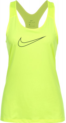 Майка женская Nike ProТехнологичная женская майка nike pro - отличный выбор для занятий фитнесом. Отведение влаги ткань, выполненная по технологии nike dri-fit, эффективно отводит влагу от кожи.<br>Пол: Женский; Возраст: Взрослые; Вид спорта: Фитнес; Покрой: Приталенный; Дополнительная вентиляция: Да; Технологии: Nike Dri-FIT; Производитель: Nike; Артикул производителя: 889560-702; Страна производства: Вьетнам; Материалы: 84 % полиэстер, 16 % эластан; Размер RU: 46-48;