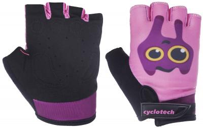 Перчатки велосипедные детские Cyclotech SummerДетские велосипедные перчатки не дают рукам скользить на руле. Особенности модели: гасят неприятные вибрации комфортная посадка.<br>Материал верха: 45 % искусственная кожа, 45 % эластан, 10 % неопрен; Материал подкладки: Искусственная кожа; Тип фиксации: Резинка; Производитель: Cyclotech; Артикул производителя: SUMM-P-XXS; Срок гарантии: 6 месяцев; Страна производства: Пакистан; Размер RU: 5;