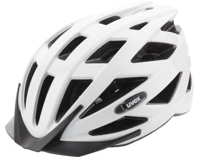 Шлем велосипедный UvexФункциональный шлем uvex подойдет для ежедневных велопрогулок.<br>Конструкция: In-mould; Вентиляция: Принудительная; Регулировка размера: Да; Тип регулировки размера: Поворотное кольцо IAS; Материал внешней раковины: Поликарбонат; Материал внутренней раковины: Вспененный полистирол; Материал подкладки: Полиэстер; Сертификация: EN 1078; Технологии: FAS, IAS 3.0, monomatic; Вес, кг: 0,225; Пол: Мужской; Возраст: Взрослые; Производитель: Uvex; Артикул производителя: S4104240115; Срок гарантии: 6 месяцев; Страна производства: Германия; Размер RU: 52-56;