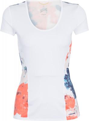 Футболка женская Head Vision, размер 42-44Женская одежда<br>Женская футболка head vision предназначена для тенниса. Свобода движений эластичная износостойкая ткань ergo stretch служит для идеальной посадки и полной свободы движений.