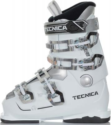 Ботинки горнолыжные женские Tecnica Esprit 70, размер 40Ботинки<br>Комфортные универсальные ботинки tecnica для начинающих горнолыжниц. Жесткость 70 и широкая колодка 104 обеспечат необходимый комфорт во время обучения.