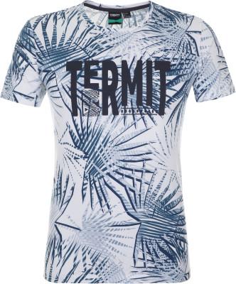 Футболка мужская Termit, размер 48Surf Style <br>Для яркого лета - удобная принтованная футболка от termit. Свобода движений прямой крой позволяет двигаться свободно.