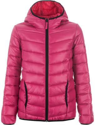 Куртка утепленная для девочек OutventureУтепленная куртка для девочек от outventure - отличный вариант для походов в прохладную погоду. Защита от ветра ткань с технологией add protect надежно защищает от ветра.<br>Пол: Женский; Возраст: Дети; Вид спорта: Походы; Вес утеплителя на м2: 160 г/м2; Наличие мембраны: Нет; Наличие чехла: Нет; Возможность упаковки в карман: Нет; Регулируемые манжеты: Нет; Защита от ветра: Да; Покрой: Приталенный; Светоотражающие элементы: Нет; Дополнительная вентиляция: Нет; Проклеенные швы: Нет; Длина куртки: Средняя; Наличие карманов: Да; Капюшон: Не отстегивается; Количество карманов: 2; Артикулируемые локти: Нет; Застежка: Молния; Материал верха: 100 % полиэстер; Материал подкладки: 100 % полиэстер; Материал утеплителя: 100 % полиэстер; Технологии: ADD PROTECT; Производитель: Outventure; Артикул производителя: UJAG028311; Страна производства: Китай; Размер RU: 116;