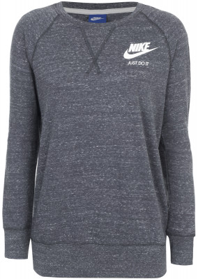 Джемпер женский Nike SportswearКомфортный джемпер nike sportswear станет идеальным завершением твоего образа в спортивном стиле.<br>Пол: Женский; Возраст: Взрослые; Вид спорта: Спортивный стиль; Материал верха: 60 % хлопок, 40 % полиэстер; Покрой: Прямой; Капюшон: Отсутствует; Застежка: Отсутствует; Производитель: Nike; Артикул производителя: 883725-060; Страна производства: Камбоджа; Размер RU: 48-50;