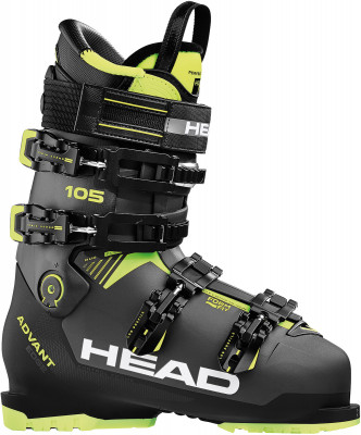Ботинки горнолыжные Head Advant Edge 105, размер 46Ботинки<br>Ботинки от head, которые гарантируют комфорт на склоне и оптимальный контроль лыж. Модель понравится продвинутым горнолыжникам.