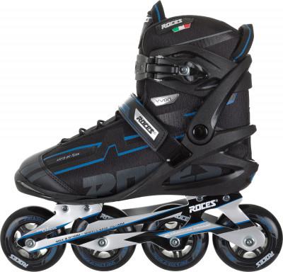 Roces Yvon 2019Роликовые коньки<br>Удобная модель роликовых коньков от roces, предназначенная для фитнес-катания. Модель рекомендуется широкому кругу любителей.