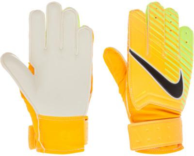 Перчатки вратарские детские Nike Gk MatchДетские вратарские перчатки от nike гарантируют надежный захват и контроль мяча в любых погодных условиях.<br>Пол: Мужской; Возраст: Дети; Вид спорта: Футбол; Материалы: 38 % полиуретан, 31 % резина, 22 % этиленвинилацетат, 9 % нейлон; Производитель: Nike; Артикул производителя: GS0343-845; Размер RU: 5;