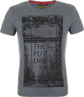 Футболка мужская Termit, размер 48Skate Style<br>Комфортная футболка termit с оригинальной графикой - для тех, кто хочет выделиться из толпы.