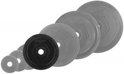 Блин стальной обрезиненный RZR 5 кг