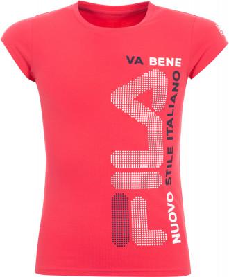 Футболка для девочек Fila, размер 152Футболки и майки<br>Футболка для девочек fila отлично впишется в гардероб, подобранный в спортивном стиле.