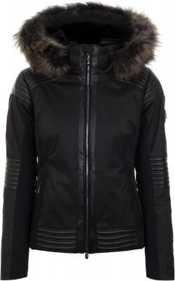 Фото - Куртку утепленная женская Descente Cicily, размер 42 черного цвета