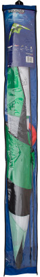 Воздушный змей Torneo PilotУправляемый воздушный змей отличается от простого воздушного змея наличием двух лееров, которые позволяют контролировать полет и осваивать различные фигуры пилотажа.<br>Размеры (дл х шир х выс), см: 160 х 80; Состав: Нейлон, стеклопластик; Вид спорта: Игры на улице; Производитель: Torneo; Артикул производителя: TRN-1013; Срок гарантии: 1 год; Страна производства: Китай; Размер RU: Без размера;