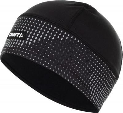 мужская шапка craft, черная