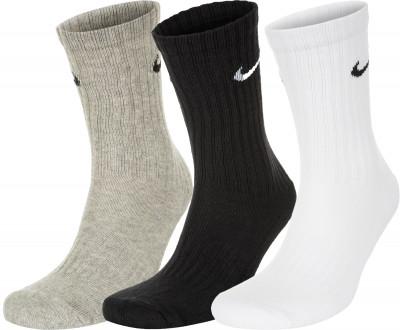 Носки Nike Cush Crew, 3 пары, размер 41-45