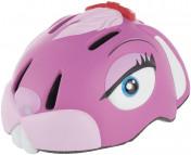 Шлем велосипедный детский Crazy Stuff Pink Bunny