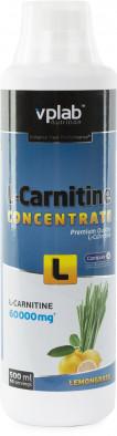 Л-карнитин Vplab nutrition, лимонный