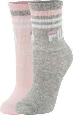 Носки для девочек FILA, 2 пары, размер 34-36