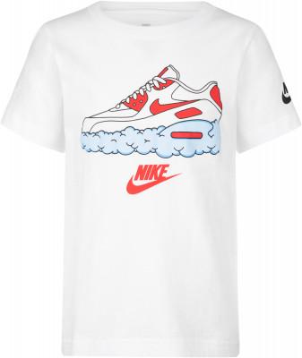 Футболка для мальчиков Nike Airmax Clouds, размер 116