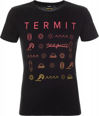 Футболка мужская Termit, размер 50Skate Style<br>Ощути дух свободы с фирменной футболкой из линии sochifornia от termit! Натуральные материалы натуральный хлопок гарантирует комфорт в жаркую погоду.