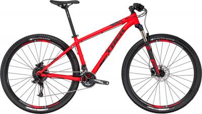 Велосипед горный Trek X-CALIBER 8 29Велосипед для тех, кто любит скорость. Рама имеет легендарную гоночную геометрию g2, скрытую проводку троса переднего переключателя и крепления для установки багажника.<br>Материал рамы: Алюминий; Размер рамы: 19,5; Амортизация: Hard tail; Конструкция рулевой колонки: Полуинтегрированная; Конструкция вилки: Витая пружина; Ход вилки: 100 мм; Регулировка жесткости вилки: Есть; Блокировка вилки: Есть; Количество скоростей: 20; Наименование переднего переключателя: SRAM GX; Наименование заднего переключателя: SRAM GX; Конструкция педалей: Классические; Наименование манеток: SRAM X5; Конструкция манеток: Триггерные двурычажные; Тип переднего тормоза: Дисковый гидравлический; Тип заднего тормоза: Дисковый гидравлический; Возможность крепления дискового тормоза: Рама, вилка, втулки; Диаметр колеса: 29; Тип обода: Двойной; Материал обода: Алюминиевый сплав; Наименование покрышек: Bontrager XR2, 29x2,20 передняя, 29x2,00 задняя; Конструкция руля: Изогнутый; Регулировка руля: Есть; Регулировка седла: Есть; Сезон: 2017; Максимальный вес пользователя: 136 кг; Вид спорта: Велоспорт; Технологии: Alpha Gold; Производитель: Trek; Артикул производителя: TR53495; Срок гарантии: 1 год; Страна производства: Китай; Размер RU: 19,5;