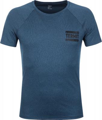 Футболка мужская Termit, размер 54Surf Style <br>Удобная и технологичная футболка от termit для водных видов спорта. Свобода движений продуманный крой с рукавами реглан позволяет двигаться максимально свободно.